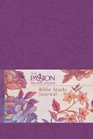 The Passion Translation: Bible Study Journal (Peony) (Book)