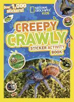 Creepy Crawly Sticker Activity Book: Over 1,000 Stickers! (Paperback)