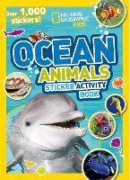 Ocean Animals Sticker Activity Book: Over 1,000 Stickers! (Paperback)