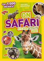 On Safari Sticker Activity Book: Over 1,000 Stickers! (Paperback)