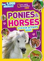 Ponies and Horses Sticker Activity Book: Over 1,000 Stickers! (Paperback)