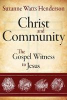 Christ and Community (Paperback)