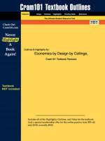Studyguide for Economics by Design
