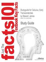 Studyguide for Calculus, Early Transcendentals by Stewart, James, ISBN 9780495011668