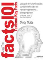 Studyguide for Human Resources Management for Public and Nonprofit Organizations