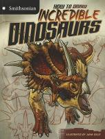 How to Draw Incredible Dinosaurs (Paperback)