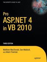 Pro ASP.NET 4 in VB 2010 (Paperback)