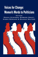 Voices for Change: Women's Words to Politicians (Paperback)