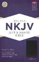 NKJV Gift & Award Bible, Brown Imitation Leather (Leather / fine binding)