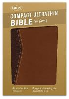 NKJV Compact Ultrathin Bible for Teens, Walnut LeatherTouch (Leather / fine binding)
