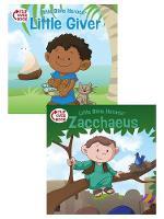 The Little Giver/Zacchaeus Flip-Over Book (Paperback)