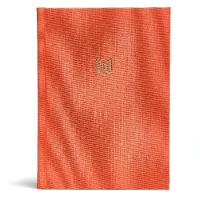 CSB She Reads Truth Bible, Poppy Linen, Indexed (Hardback)