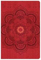 CSB Essential Teen Study Bible, Red Flower Cork LeatherTouch (Leather / fine binding)