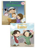 Christmas/Easter Flip-Over Book (Paperback)