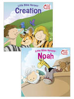Creation/Noah Flip-Over Book (Paperback)