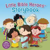 Little Bible Heroes Storybook (Padded) (Hardback)