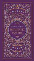 Pocket Book of Romantic Poetry - Barnes & Noble Flexibound Pocket Editions (Paperback)