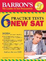 Barron's 6 Practice Tests for the NEW SAT (Paperback)