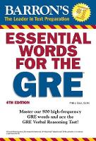 Essential Words for the GRE - Barron's Test Prep (Paperback)