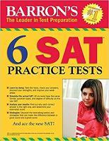 6 SAT Practice Tests - Barron's Test Prep (Paperback)
