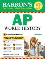 AP World History: With Online Tests - Barron's Test Prep (Paperback)