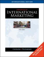 Principles of International Marketing, International Edition (with InfoTrac (R)) (Paperback)