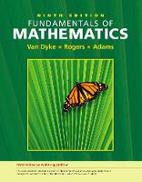 Fundamentals of Mathematics, Edition (with WebAssign Printed Access Card, Single-Term) (Paperback)