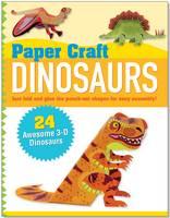 Paper Craft: Dinosaurs (Spiral bound)