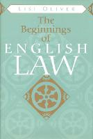 The Beginnings of English Law - Toronto Medieval Texts and Translations (Paperback)