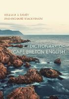 Dictionary of Cape Breton English (Paperback)