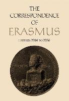 The Correspondence of Erasmus: Letters 2204-2356 (August 1529-July 1530) (Hardback)