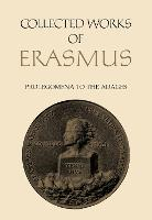Collected Works of Erasmus: Prolegomena to the Adages - Collected Works of Erasmus 30 (Hardback)