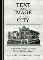 Text and Image in the City: Manuscript, Print and Visual Culture in Urban Space (Hardback)