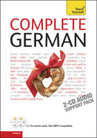 Teach Yourself Complete German: Audio Support - Teach Yourself Complete Courses (CD-Audio)