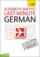 Teach Yourself Last-minute German - Teach Yourself One Day (CD-Audio)
