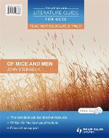 Philip Allan Literature Guide (for GCSE) Teacher Resource Pack: Of Mice and Men (Spiral bound)