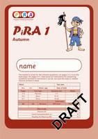 Progress in Reading Assessment Test 1, Autumn Pk10 - PiRA