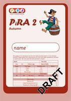 Progress in Reading Assessment: Autumn Test 2 - PiRA