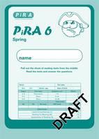 Progress in Reading Assessment Test 6, Spring Pk10 - PiRA