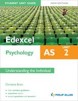 Edexcel AS Psychology Student Unit Guide: Unit 2 Understanding the Individual (Paperback)