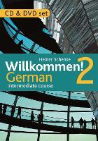 Willkommen! 2 German Intermediate course: CD & DVD Set (CD-Audio)