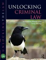 Unlocking Criminal Law - Unlocking the Law (Paperback)