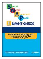SNAP Infant Check CD-ROM (Special Needs Assessment Profile) (CD-Audio)