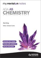 My Revision Notes: AQA AS Chemistry - My Revision Notes (Paperback)