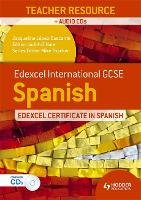Edexcel International GCSE and Certificate Spanish Teacher Resource and Audio-CDs (Spiral bound)