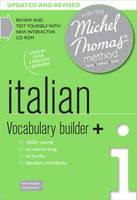 Italian Vocabulary Builder+ (Learn Italian with the Michel Thomas Method) (CD-Audio)