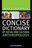 Concise Dictionary of Social and Cultural Anthropology (Hardback)