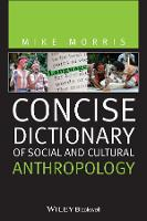Concise Dictionary of Social and Cultural Anthropology (Paperback)