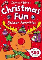 Christmas Fun Sticker Activities - The Wonderful World of Simon Abbott (Paperback)