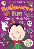 Halloween Fun Sticker Activities - The Wonderful World of Simon Abbott (Paperback)